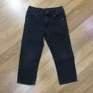 Boys Black Jeans-Age 3