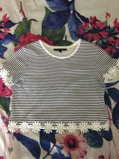 💯 Authentic Topshop Daisy Top