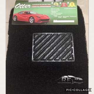 Otter Coil Car Matting (5 pcs)