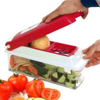 Multifunctional 12pcs Vegetable Food Slicer for Kitchen