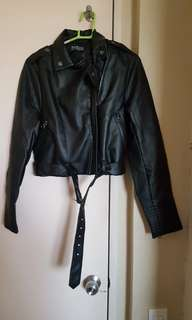 Cotton On Small Leather Jacket