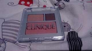 Clinique blush on plus eyeshadow