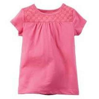 Carter's Pink Top 6Months Size (New)