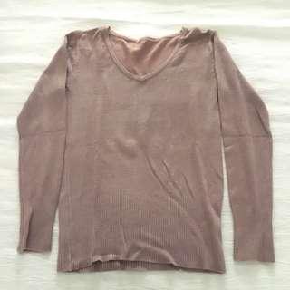 Brown Sweat Shirt