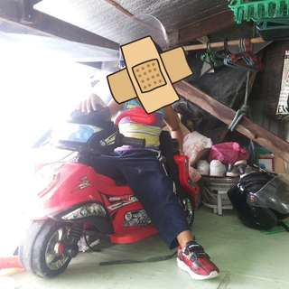 Electric motor for kids