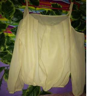 off shoulder(yellow) 150/120