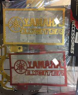 Y150 Coolant Net(Gold/Red)