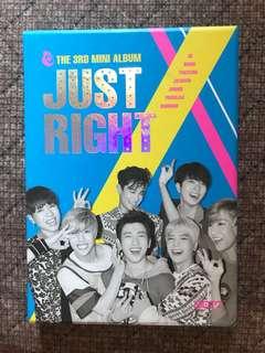 GOT7 JUST RIGHT 3rd Mini Album