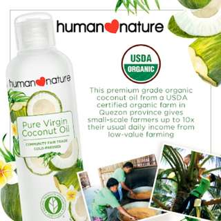 Human❤Nature Pure Virgin Coconut Oil 200ml