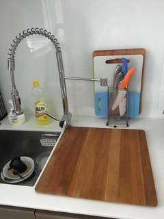 Ikea Over the sink Wooden Chopping Board