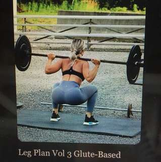 Suzieb leg plan vol 3 glute based ebook