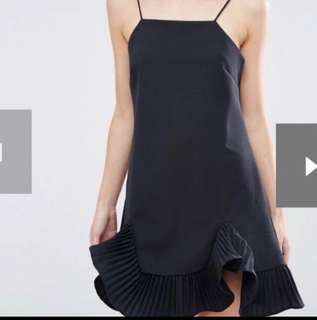 ASOS Petite cami dress with frill hem