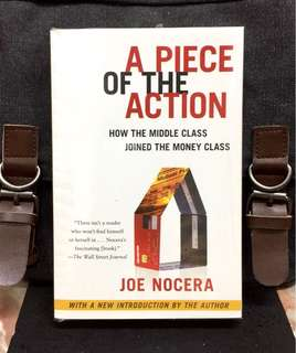 《Bran-New + The Transformation of The Habits of American Middle-Class went from Being Savers To Borrowers And Investors Through Revolution In Personal Financial Products》Joe Nocera - A PIECE OF THE ACTION : How The Middle Class Joined The Money Class