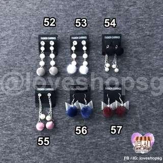 Ladies earrings part 2