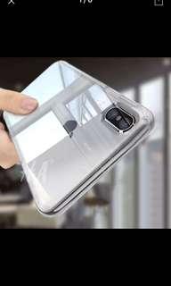 Silicone transparent IPhone X case (plz read description)