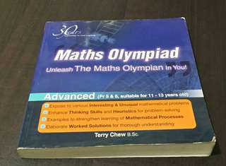SAP Math Olympiad Skillbook with Answer Keys