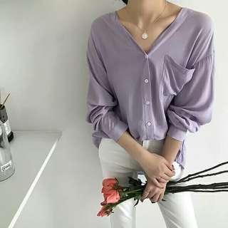 韓國v領恤衫