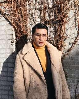 H&M Faux Sheep Fur Jacket
