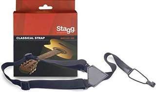218.Stagg SNCL001-BK Nylon Strap for Classical Guitars and Ukuleles