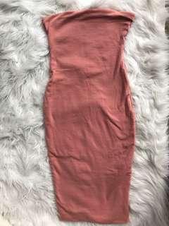 Kookai strapless midi dress size 1