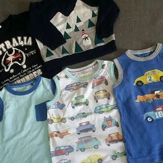 Boy branded clothes bundle