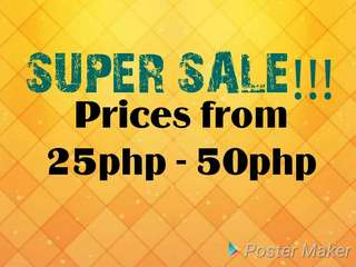 CHECK MY LISTINGS! SUPER SALE!!!