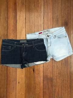 Bundle 11: Denim shorts