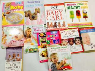 Babies and toddler books