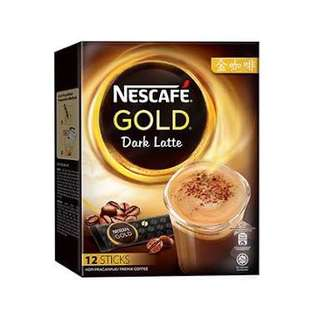 Nescafé Gold Dark Latte Premix Coffee