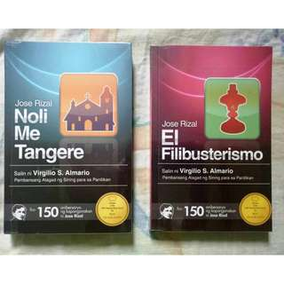 Noli Me Tangere/El filibusterismo (Best Translation Book Award)