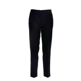 MONCLER - 羊毛混合直筒褲