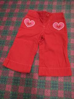 Get 3 assorted Pants for toddler