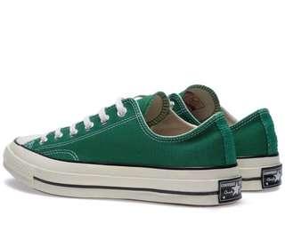 Converse 1970 Chunk Taylor green