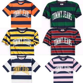 Tommy Jeans間條Tee