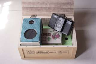 Lomo LC-A + 20 Years Limited Edition + Wide angle adaptor