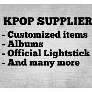 KPOP Supplier here!