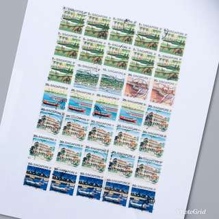 1990 Old S'pore Stamps