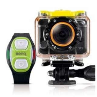 BenQ SP1數位運動攝影機+水極限配件組