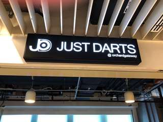 Newly open darts arcade!