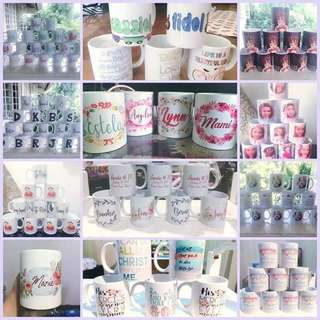 Customized Mugs for all occassions