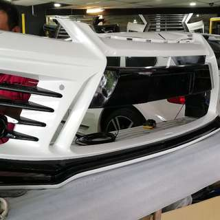 Toyota vellfire new design kit