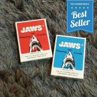 🆕🔥Jaws 1001 Standard Playing Cards