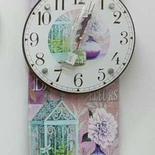 Boutique Des Fluers Clock