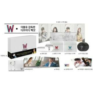 W 兩個世界 導演版 DVD 李鐘碩 李鍾碩 韓孝珠 韓孝周