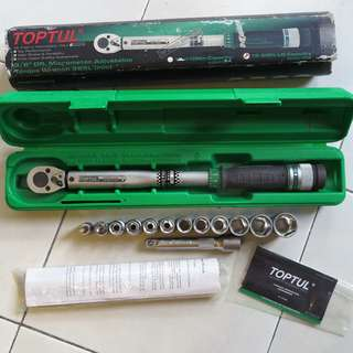 Professional Tools- Toptul Torque wrench (ANAG1208)