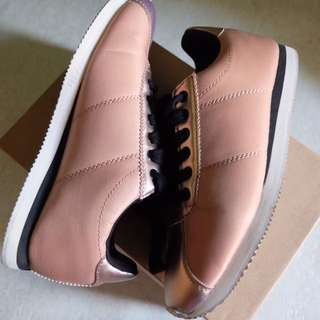 Rubi by Cotton On Nude/ Rose Gold Sneakers