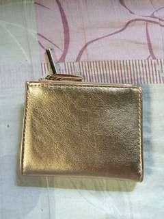 Bershka Rose gold wallet