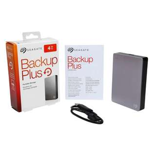 Seagate Backup Plus 4TB Portable Harddisk