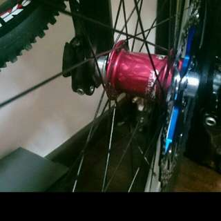 Chris king wheelset laze to spank spike 35 repriced to clear!!!!