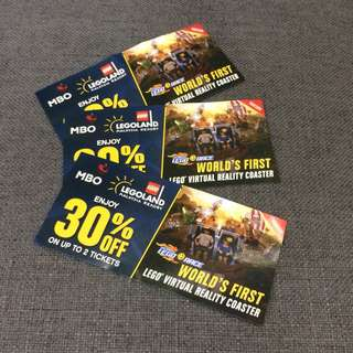 Legoland Johor 30% off for two in each ticket